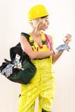 Muratore femminile Fotografia Stock