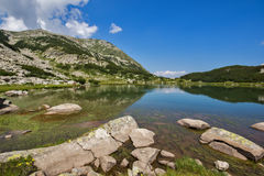 Muratovo Lake, Pirin Mountain Landscape Stock Photography