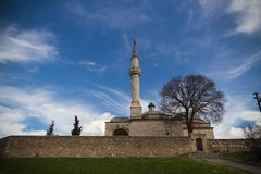 Muratpaşa Mosque and Comlex Royalty Free Stock Photography