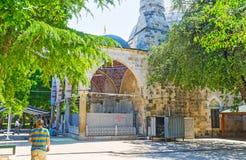 Muratpasa清真寺在安塔利亚 库存照片