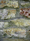 Muratura della parete del calcare Immagine Stock