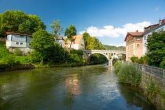 Murau, Autriche Photo stock