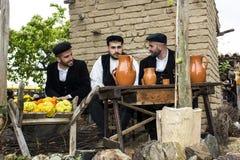 MURAVERA ITALIEN - April 2, 2017: 45th festival av citruns - Sardinia Royaltyfria Foton