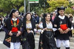 MURAVERA, ITALY - APRIL 2, 2017: 45 Citrus Festival - Sardinia Royalty Free Stock Image