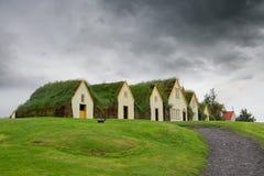 Murawa domy obraz stock