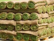 Murawy trawy rolki Obrazy Stock