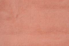 Murbruk av brun färg för bakgrunden Arkivfoto
