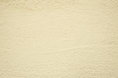 Murbruk i beiga på en vägg Royaltyfri Fotografi