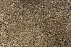 Murbruk med granitflisor Arkivfoto