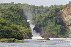 Murchison Falls Photo stock