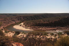 Murchison river - Australia Royalty Free Stock Images