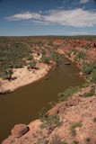 Murchison river - Australia Stock Photo