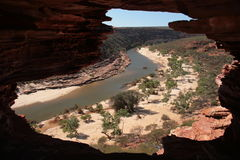 Murchison river - Australia Royalty Free Stock Photography