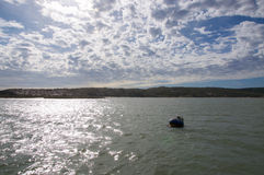 Murchison River with Buoy stock image