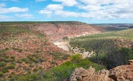 Murchison River Gorge: Kalbarri, Western Australia stock image