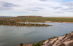 Murchison River View royalty free stock photos