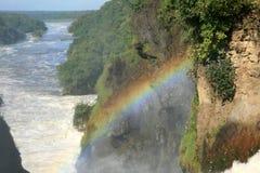 Murchison Spadać NP, Uganda, Afryka Obrazy Stock