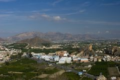 Murcia Countryside Royalty Free Stock Photo