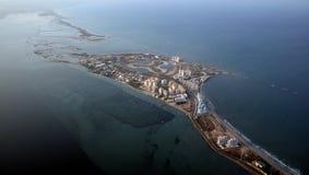 Murcia-Küste Stockbild