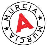 Murcia znaczka gumy grunge Zdjęcia Stock