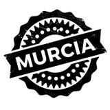 Murcia znaczka gumy grunge Fotografia Stock