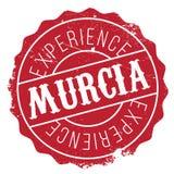 Murcia znaczka gumy grunge Zdjęcie Royalty Free