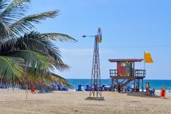 Murcielago beach, Manta, Ecuador Royalty Free Stock Photo