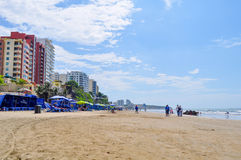 Murcielago beach, Manta, Ecuador Stock Photography