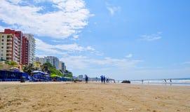 Murcielago beach, Manta, Ecuador Stock Image