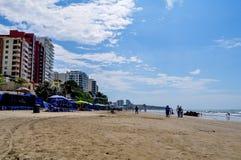 Murcielago beach, Manta, Ecuador Royalty Free Stock Photos
