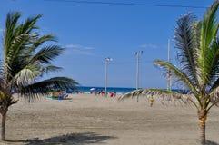 Murcielago-Strand, Manta, Ecuador Lizenzfreie Stockfotos