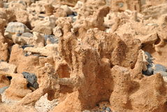 Murdeira en beroemde strandrotsen Royalty-vrije Stock Afbeeldingen
