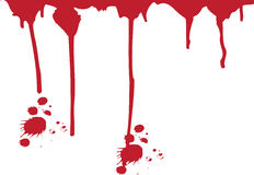 Murder Blood Splatter Royalty Free Stock Photography