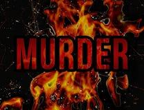Murder Concept Grunge Styl Background Stock Image