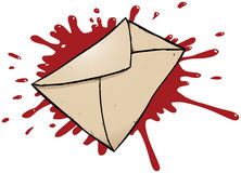 Murder by mail Royalty Free Stock Photos