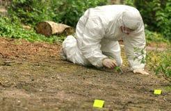 Murder scene Stock Images