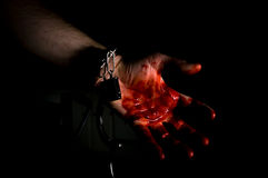 Murderer Bloody Hand Stock Photos