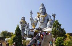 MURDESHVAR, KARNATAKA, LA INDIA - 27 DE FEBRERO DE 2014: El la del mundo Foto de archivo libre de regalías