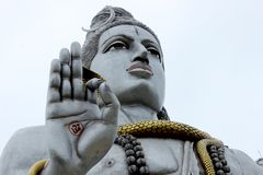 Murdeshwar Shiva Statue stockfotografie