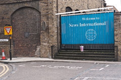 Murdoch's News International headquarters Stock Photo