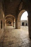 Muren, Kroatië & x28 van de Dubrovnik de oude stad; Spel van tronen scenes& x29; Stock Fotografie