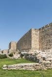 Muren van de Stad van Jerisalem de Oude Royalty-vrije Stock Foto's