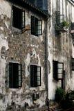 Muren van de Su stijlarchitectuur Royalty-vrije Stock Foto