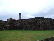 Muren van het Fort Galle Royalty-vrije Stock Afbeeldingen