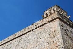 Muren van Ibiza Royalty-vrije Stock Foto's