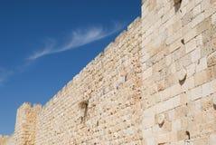 Muren van Jeruzalem Stock Foto