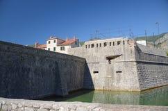 muren van Kotor Royalty-vrije Stock Foto