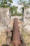Muren van oud kanon Royalty-vrije Stock Afbeelding
