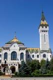Mures市政厅 免版税库存照片