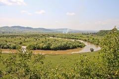 mures河 免版税库存图片
